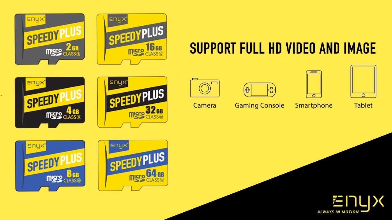 เมมโมรี่การ์ด micro SDHC Card ENYX อีนิกซ์ 2GB 4GB 8GB 16GB 32GB 64GB
