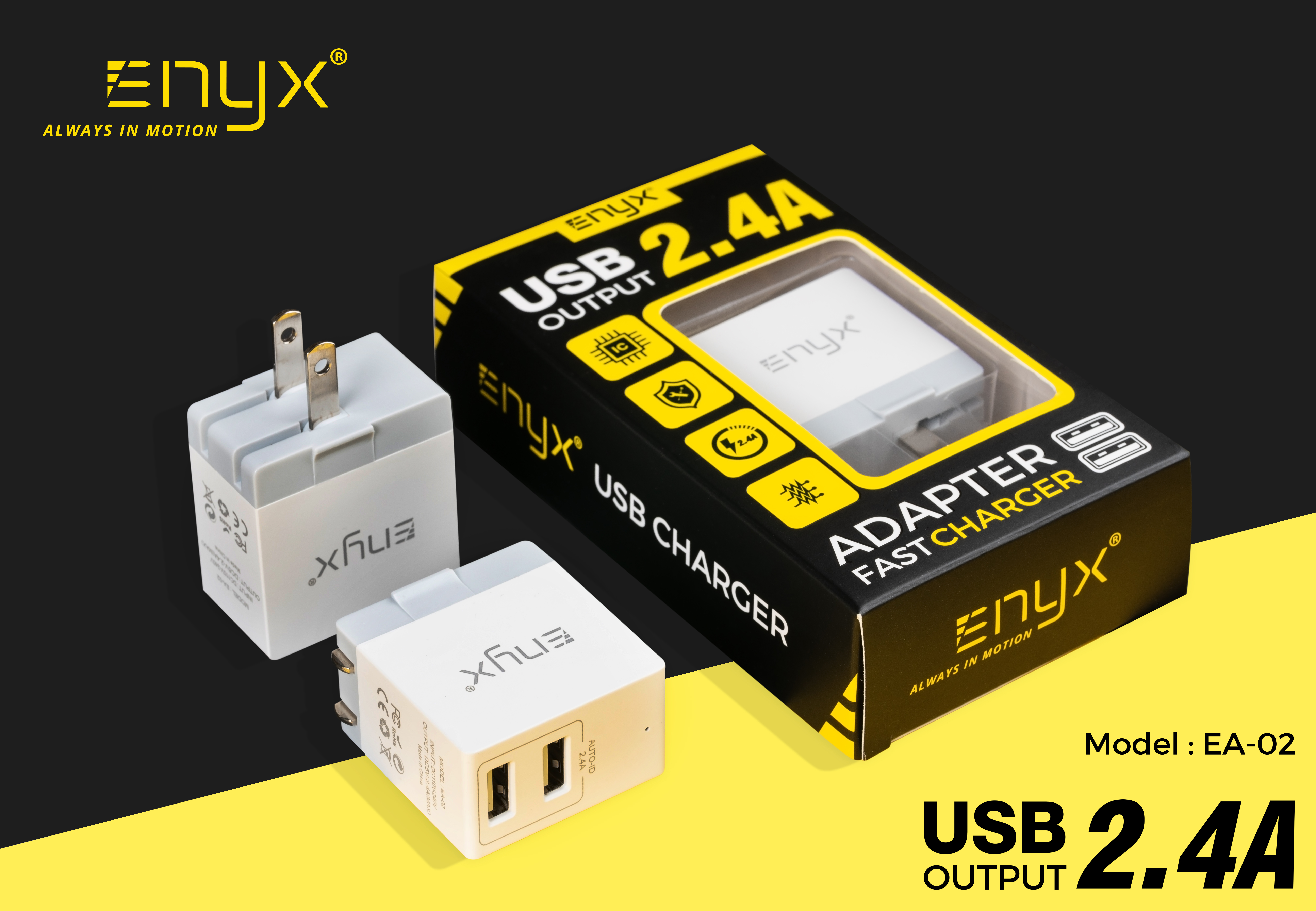 อะแดปเตอร์ adapter หัวชาร์จ ที่ชาร์จ Enyx อีนิกซ์
