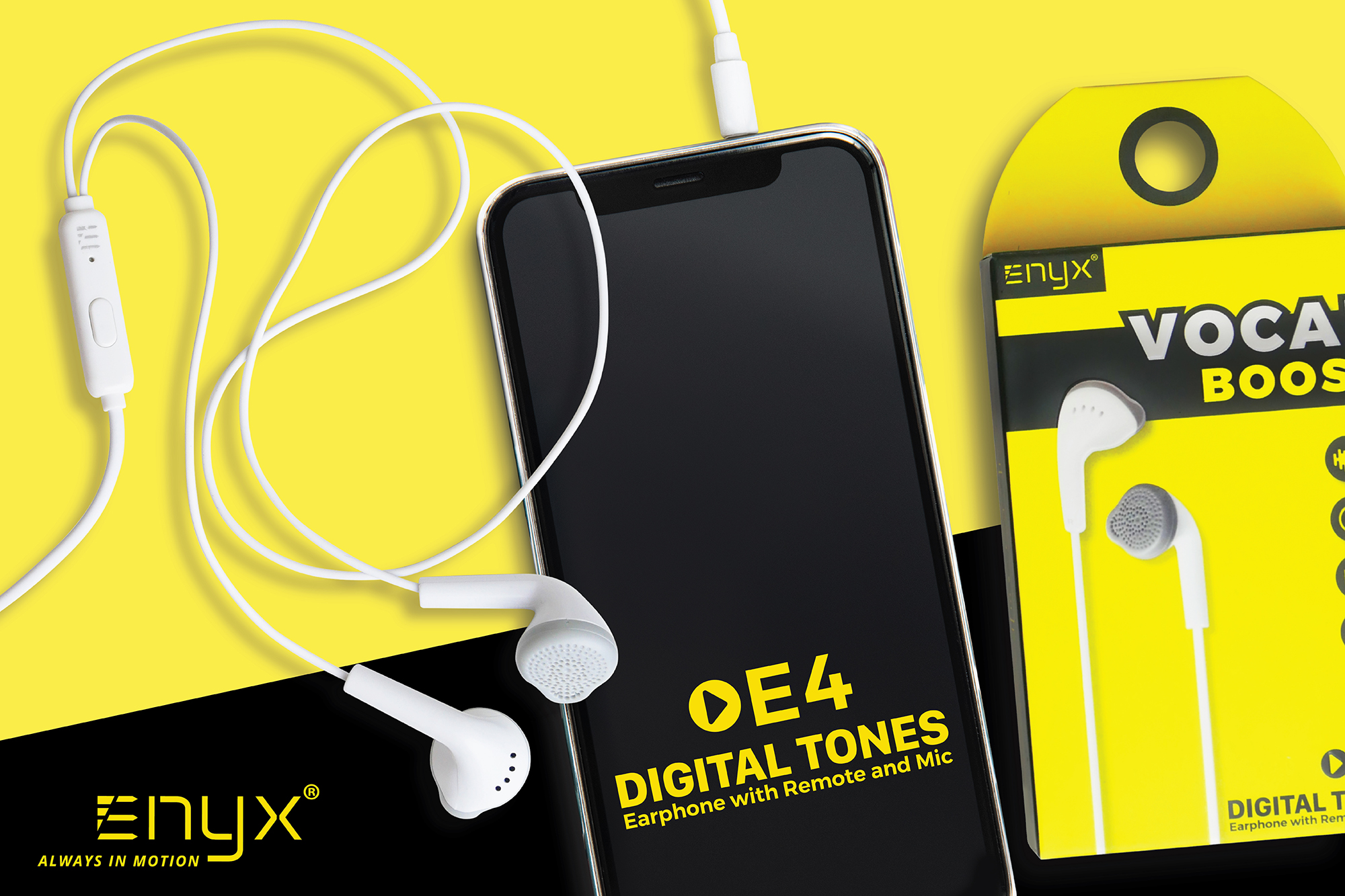 EE04 หูฟัง Earphone อินิกซ์ Enyx