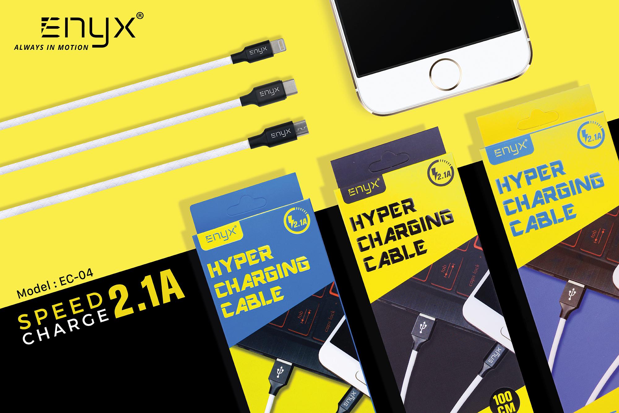 สายชาร์จ ENYX 2.1A Usb Cable อีนิกซ์ fast charge
