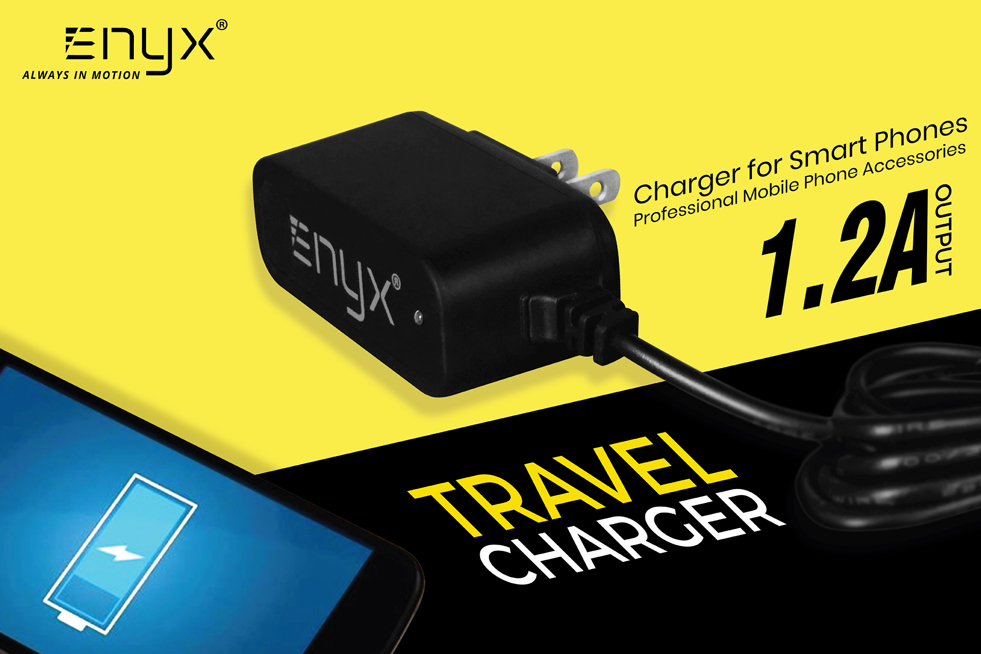 สายชาร์จ ENYX 1.2A Usb Cable อีนิกซ์ fast charge
