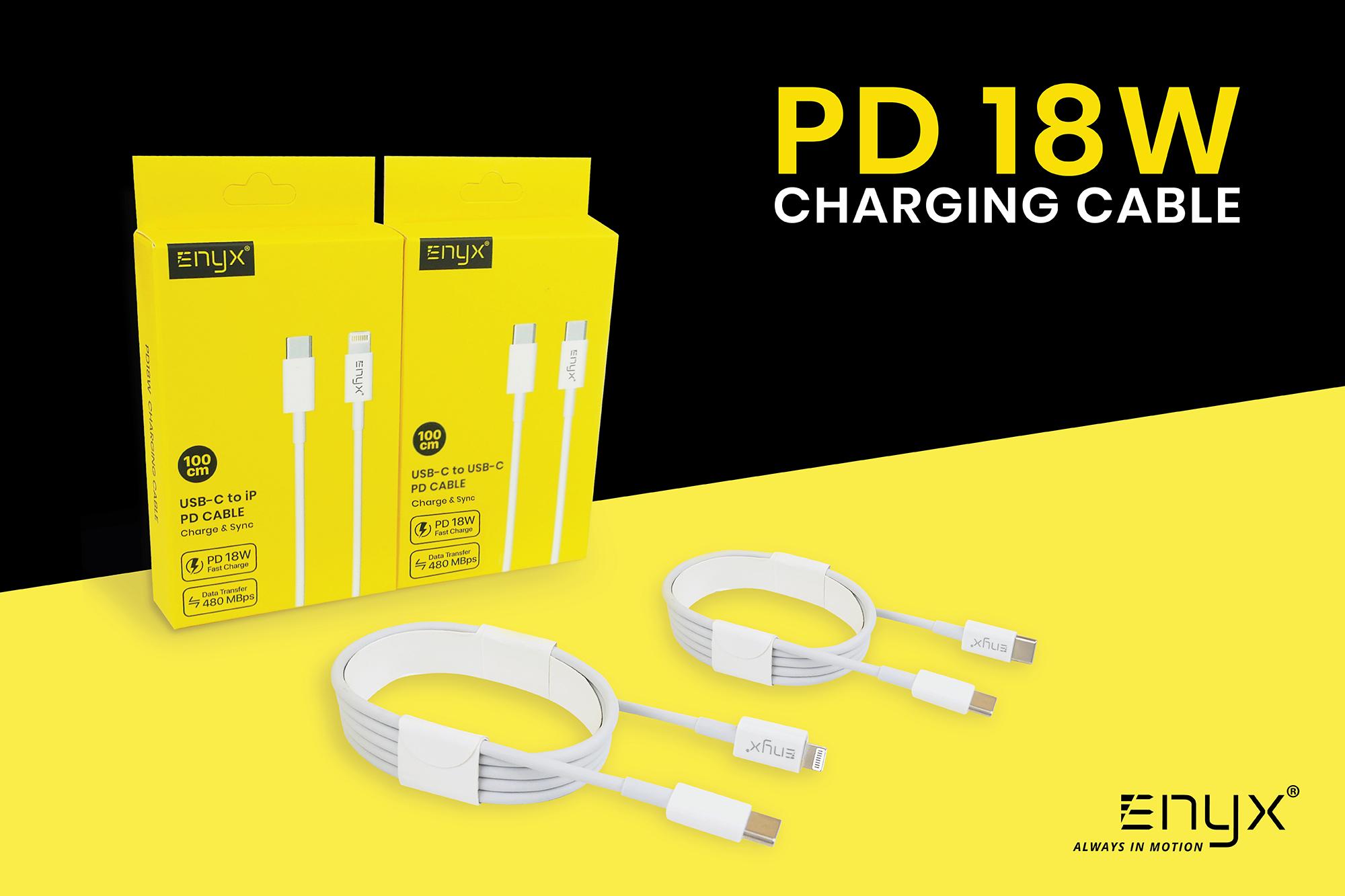 สายชาร์จ PD 18 W ENYX 2.1A Usb Cable อีนิกซ์ fast charge