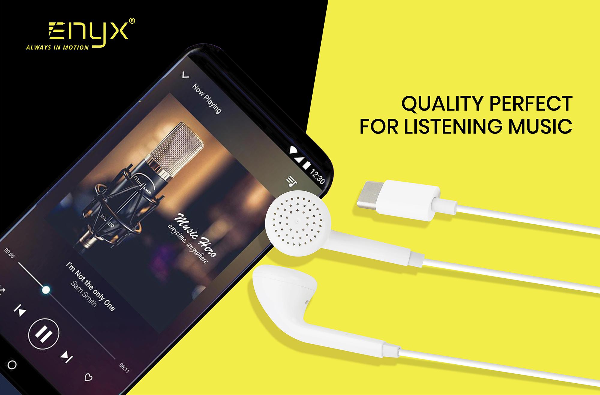 EE05 หูฟัง Type-C Earphone อินิกซ์ Enyx