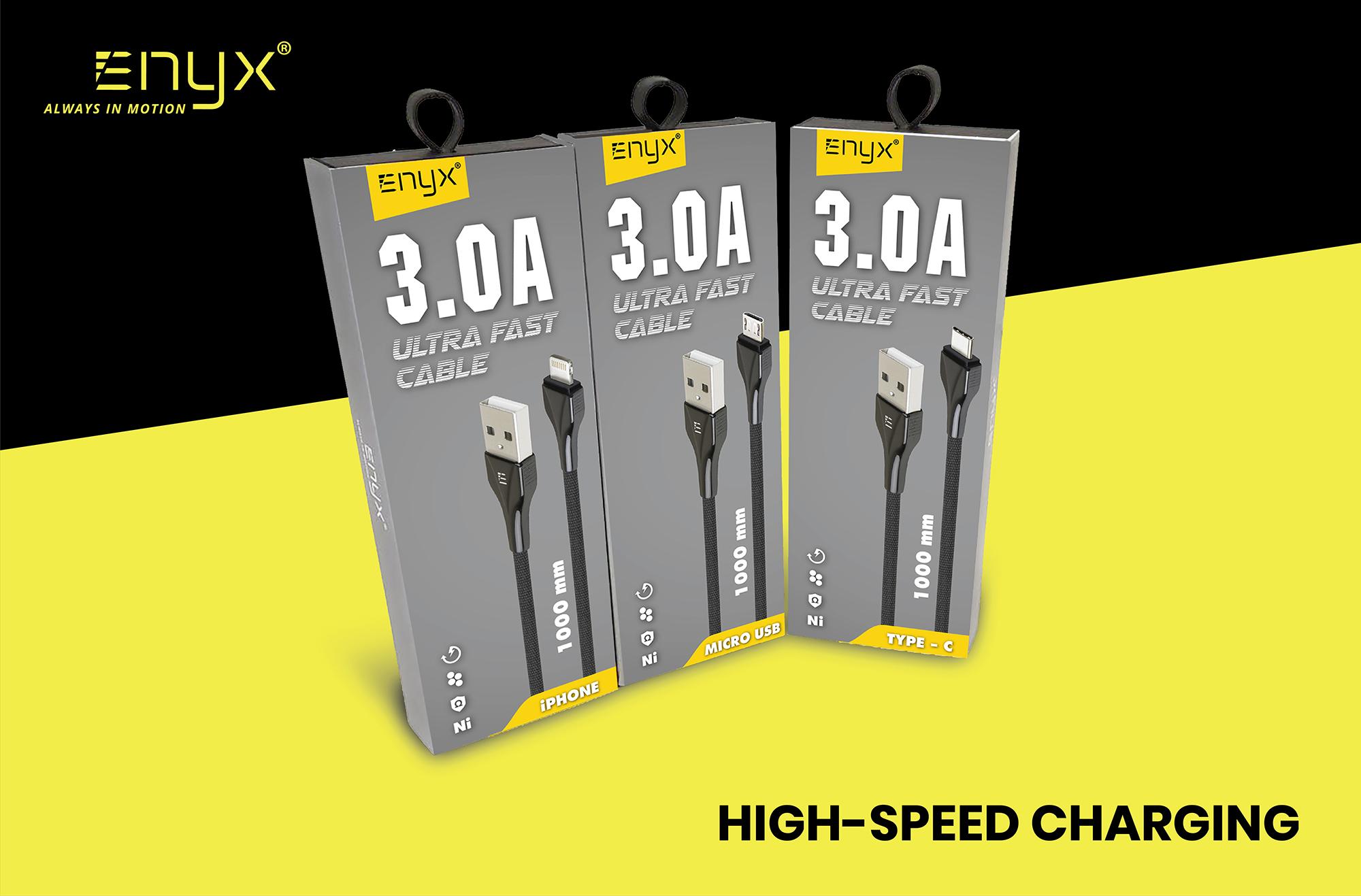 สายชาร์จ 3.0A ENYX 3.0A Usb Cable อีนิกซ์ fast charge