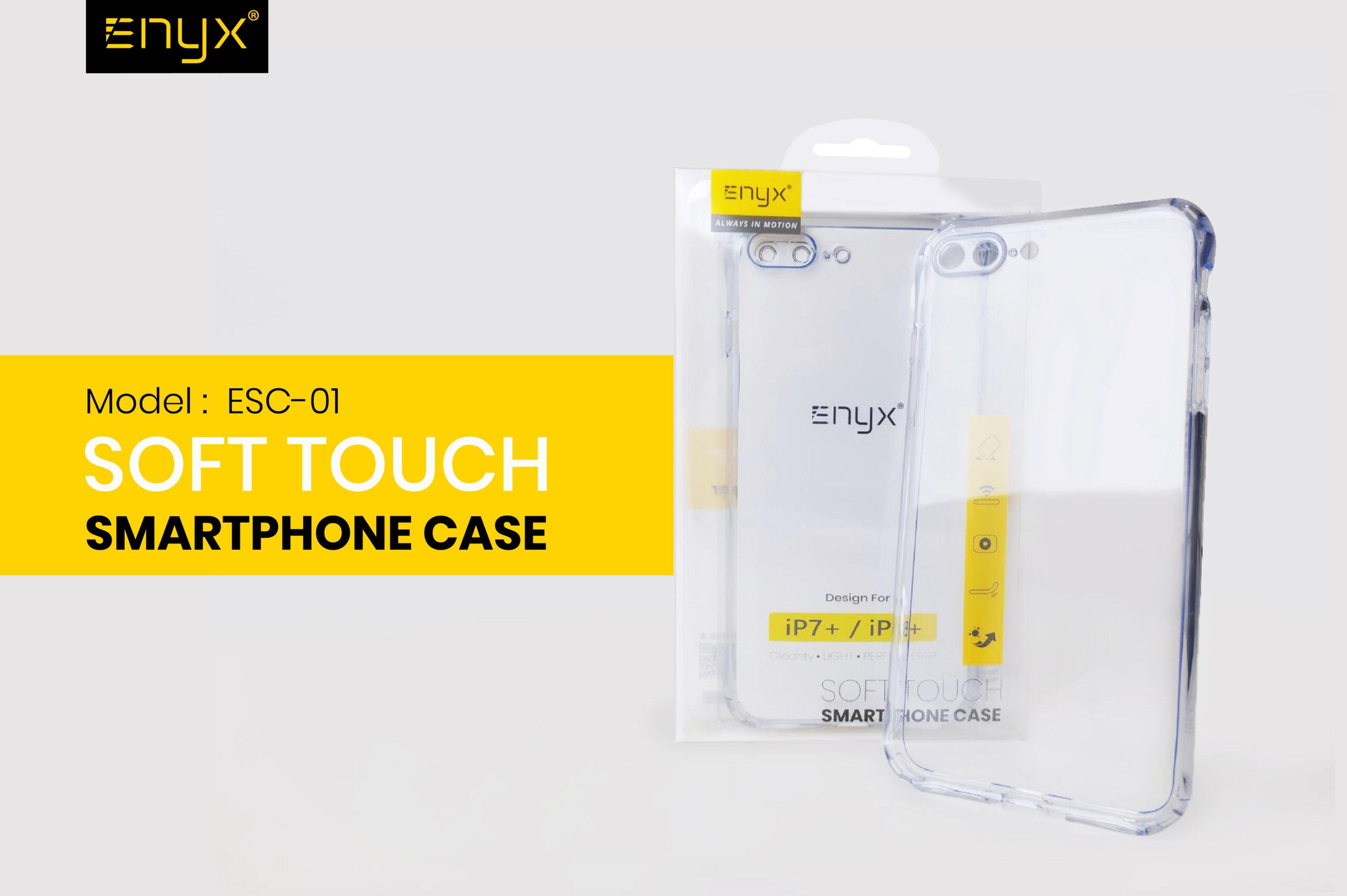 ESC01  เคสมือถือ เคสใส enyx case